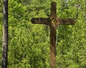 Cross at the Camp Agape Lakeside Chapel