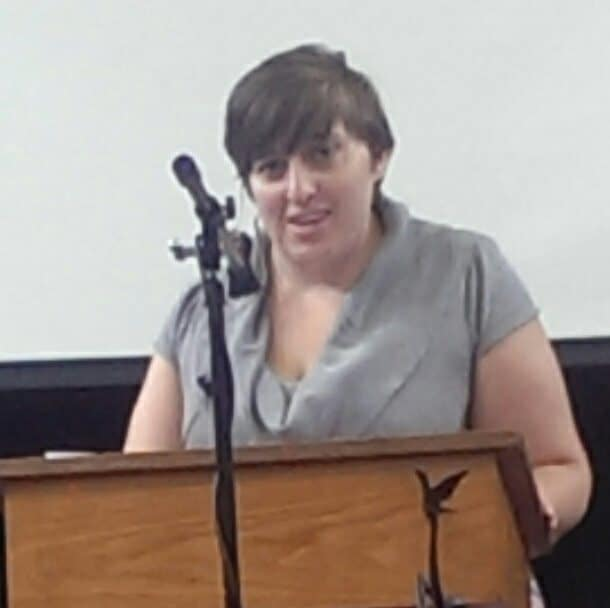 Joy Wahnefried preaching on June 28, 2015.