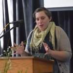Joy Wahnefried preaching on Oct. 18, 2015