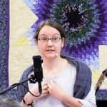 Rachel Taylor speaking at Raleigh Mennonite Jan. 1, 2017
