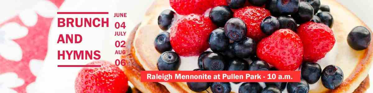 Brunch & Hymns at Pullen Park, June 4, July 2 and Aug. 6