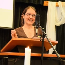 Rachel preaching July 15, 2018