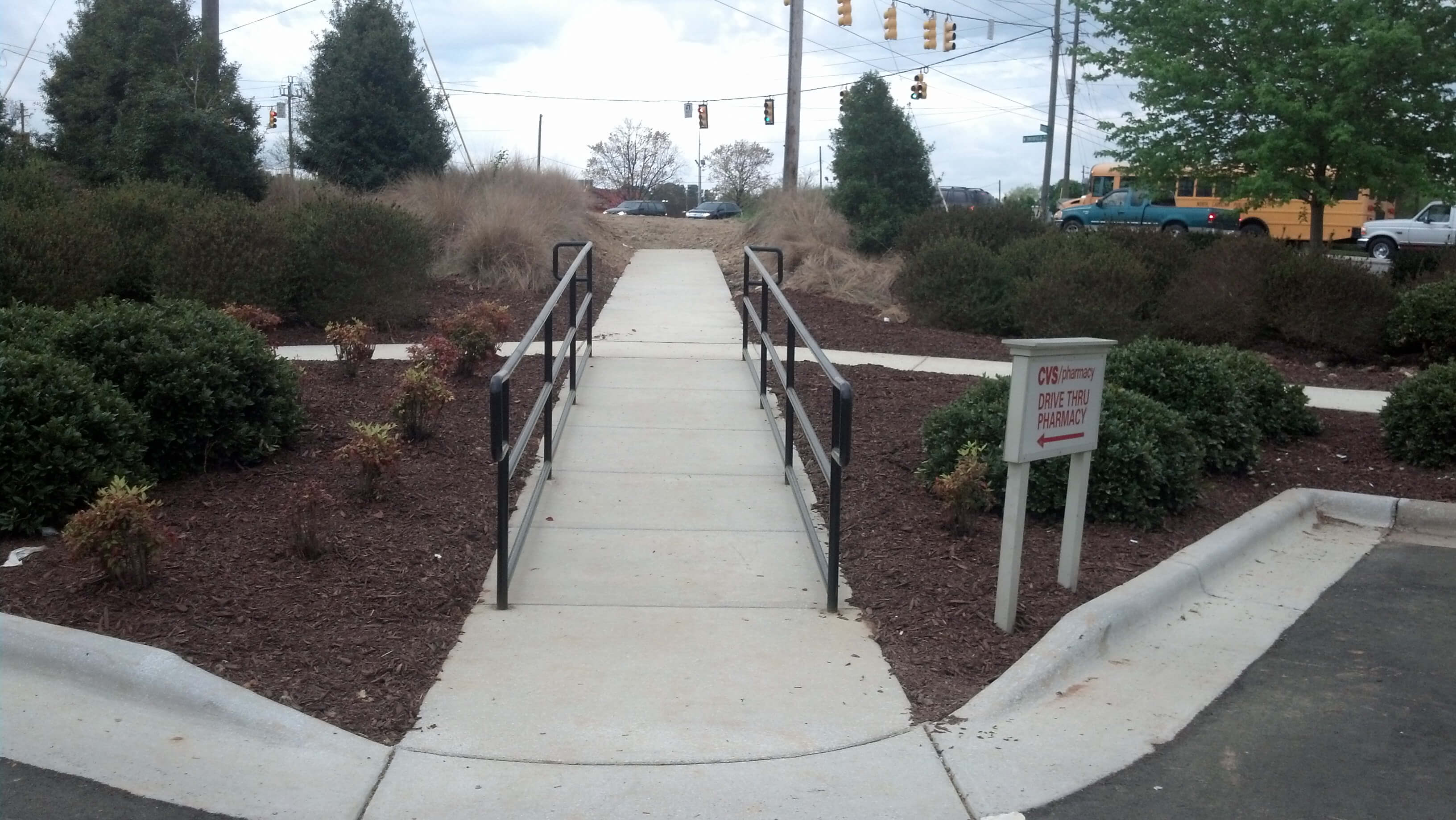 Handicap Accessible Sidewalk Paving Raleigh Raleigh Paving
