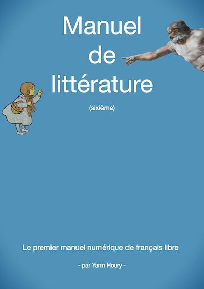 Couverture du manuel de littérature