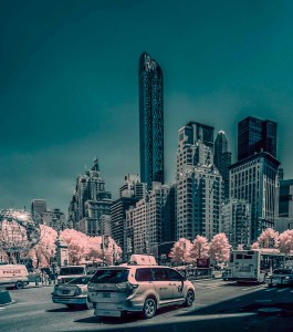 New York City infrared
