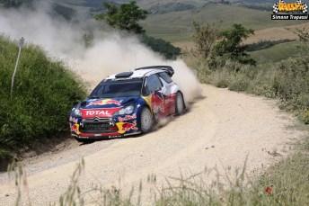 4 test Citroen WRC di Simone Trapassi