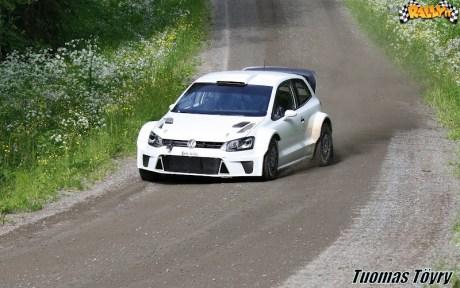 8 test Polo RS WRC 2012