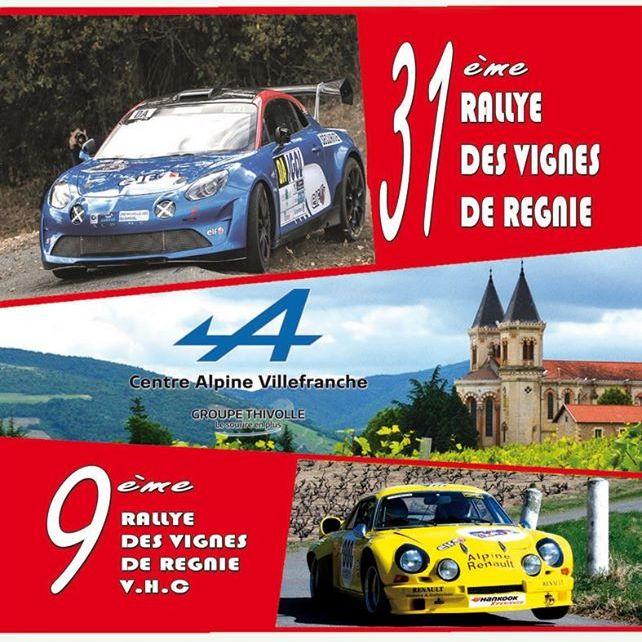 31ème Rallye régional des Vignes de Régnié