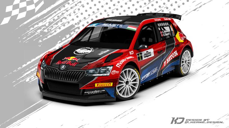 Andréas Mikkelsen - Skoda Fabia R5 - Rally Hungary 2020
