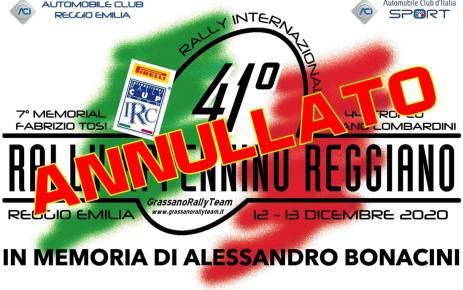 41 ème Rally Apennin Reggiano