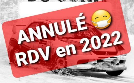 Ronde du Jura 2021 annulée