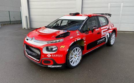 Nicolas Ciamin dévoile sa C3 Rally2 !