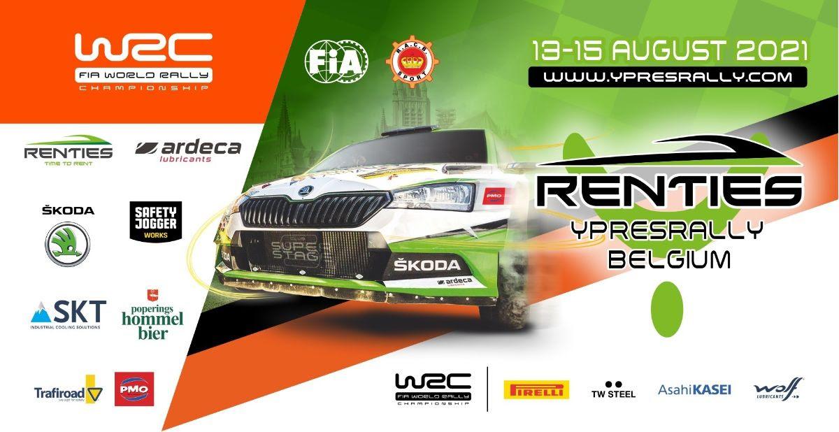 ŠKODA poursuit son partenariat avec le Renties Ypres Rally Belgium