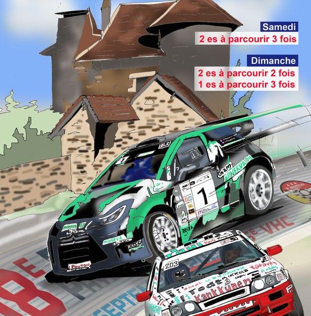 Rallye du Pays de Saint-Yrieix 2021
