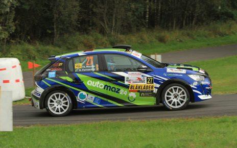 Thibaud Mazuin signe sa première victoire en Junior à l'East Belgian Rally