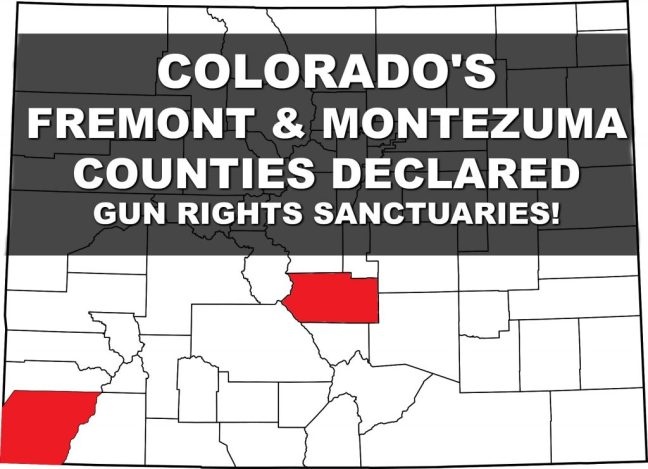 COLORADO'S FREMONT & MONTEZUMA COUNTIES DECLARED GUN RIGHTS SANCTUARIES! Rally for our Rights