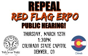 Repeal Red Flag ERPO Colorado HB20-1271