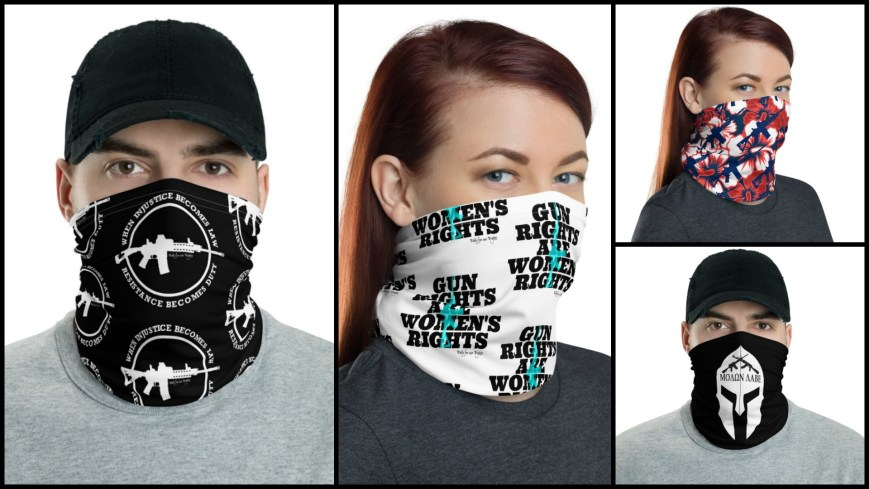 Face Masks for Gun Rights : Rally For Our Rights