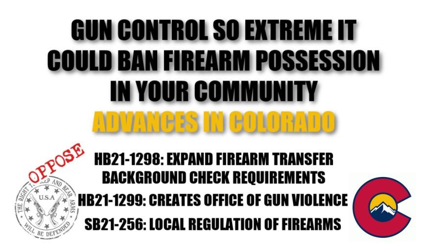gun control bills colorado