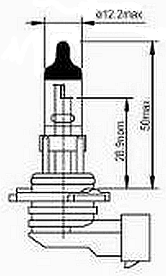 Hella 9145 Right Angle PY20d base  Fog lamps   Rally Lights
