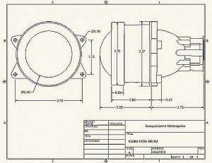 Hella 60mm Projector Headlamp Module | Rally Lights