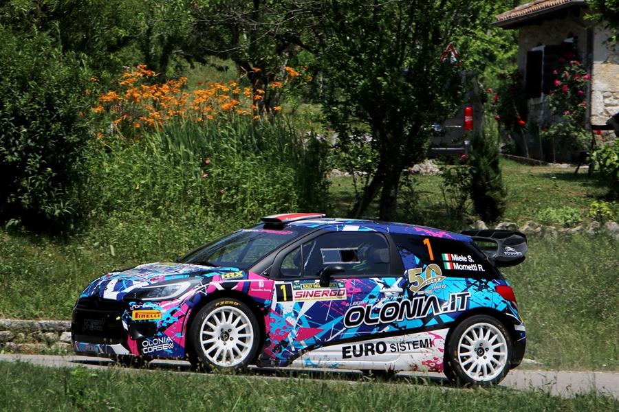 Simone Miele Rally della Marca