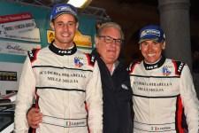 Albertini-Fappani vincitori dell'ultima edizione e Croce il patron del Rally