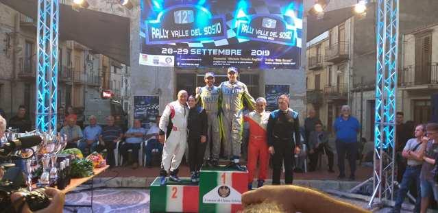 Profeta Raccuia 1° posto assoluto Rally Valle del Sosio 2019