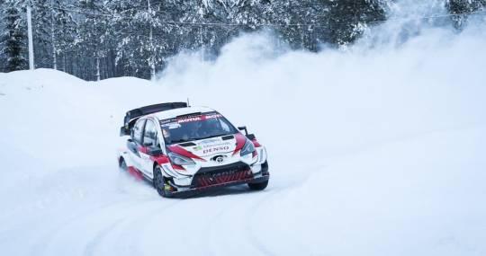 Arctic Lapland Rally svezia