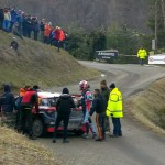WRC, a Montecarlo fuori Greensmith e Scandola – VIDEO