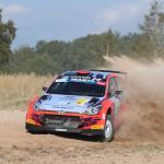 Rally Liepaja, il russo Nikolay Gryazin svetta nella Qualifying Stage