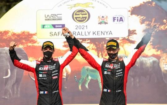 safari rally ogier