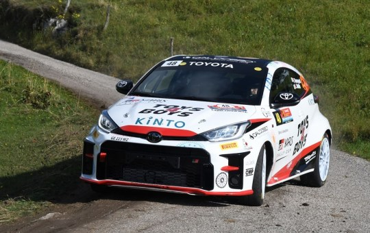 yaris rally cup prove speciali