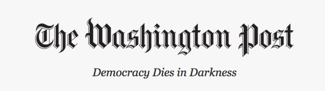 The Washington Post - Democracy Dies in Darkness