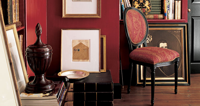 Ralph Lauren Home: Stadium Red Paint
