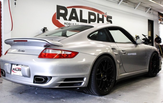 Porsche Audio And Technology Upgrade For Vancouver 911 Turbo Client