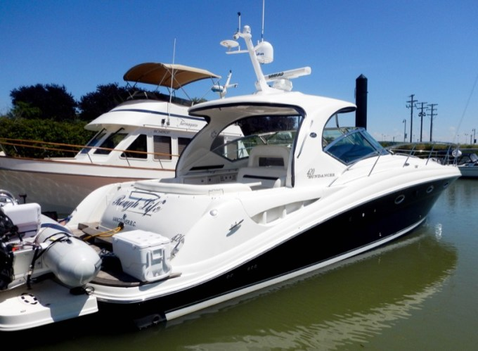 Sea Ray Sundancer Yacht Audio System For Vancouver Marine Client