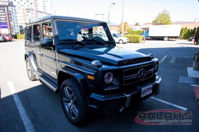 Mercedes-Benz G63 Subwoofer Upgrade for Kelowna Client