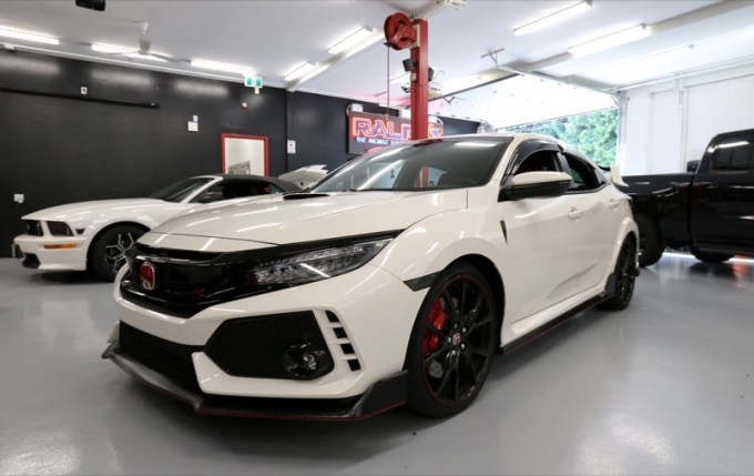 Audio Upgrades and More for Vancouver Civic Type R