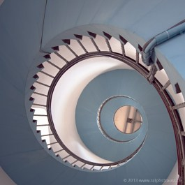 Treppe im Lyngvig Fyr