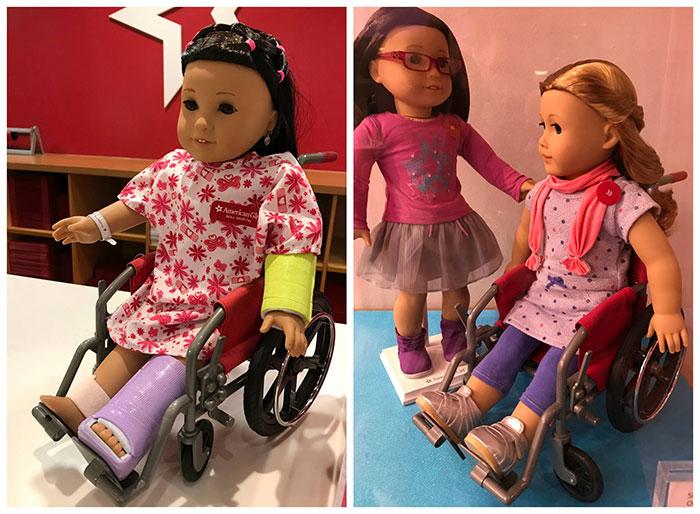 Resultado de imagen para american girl brand silla ruedas