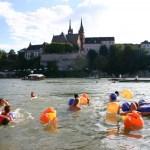 Rheinschwimmen mit Streetview