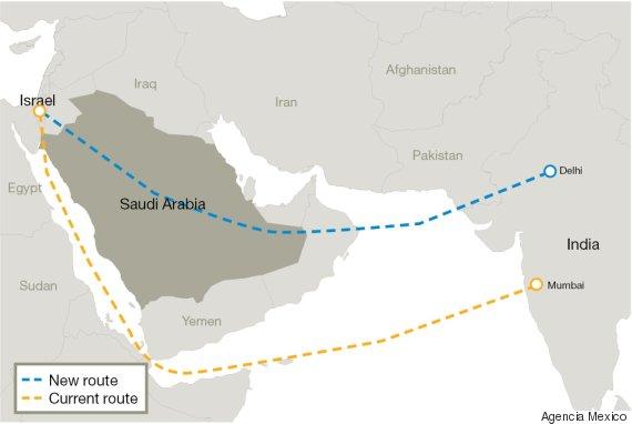 Isreal-Soudia-Arabia