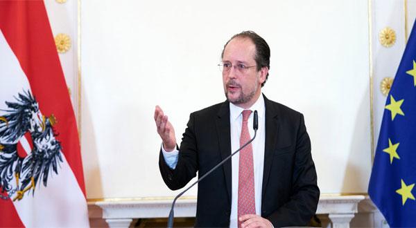 وزير خارجية النمسا التكامل الاوروبي لن يتحقق الا بانضمام دول غرب البلقان الى عضوية الاتحاد