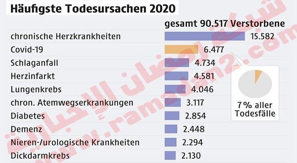 فيروس كورونا: عدد الوفيات في النمسا جراء الوباء يتخطى 7% في عام 2020 – تقرير مهم