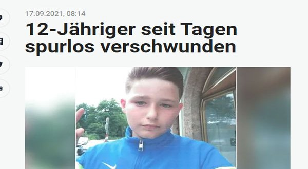النمسا – طفل متغيب عن منزل ذويه منذ 6 أيام ..وشرطة تيرول تكثف البحث
