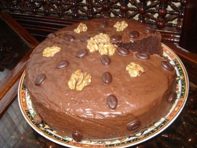 Makkelijke chocoladecake