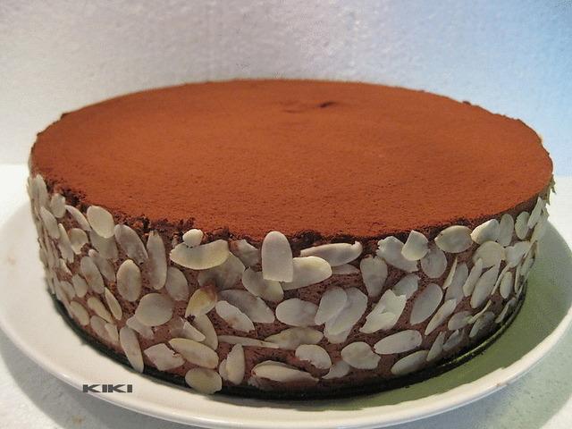 Chocoladetaart met kastanjepuree