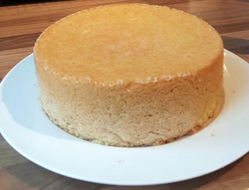 taart maken van cake