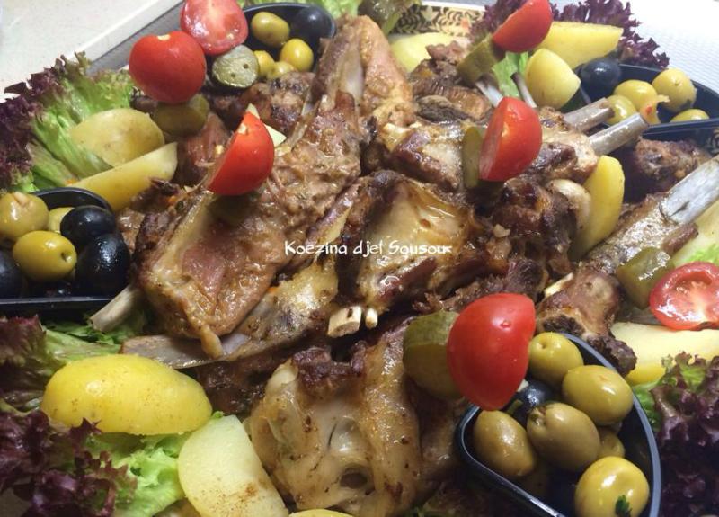 Marokkaans vlees uit de oven